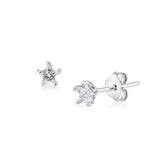 Star Earrings (CZ)