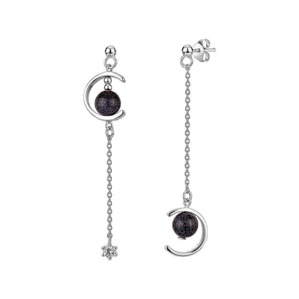 Lunar Night Fall Earrings