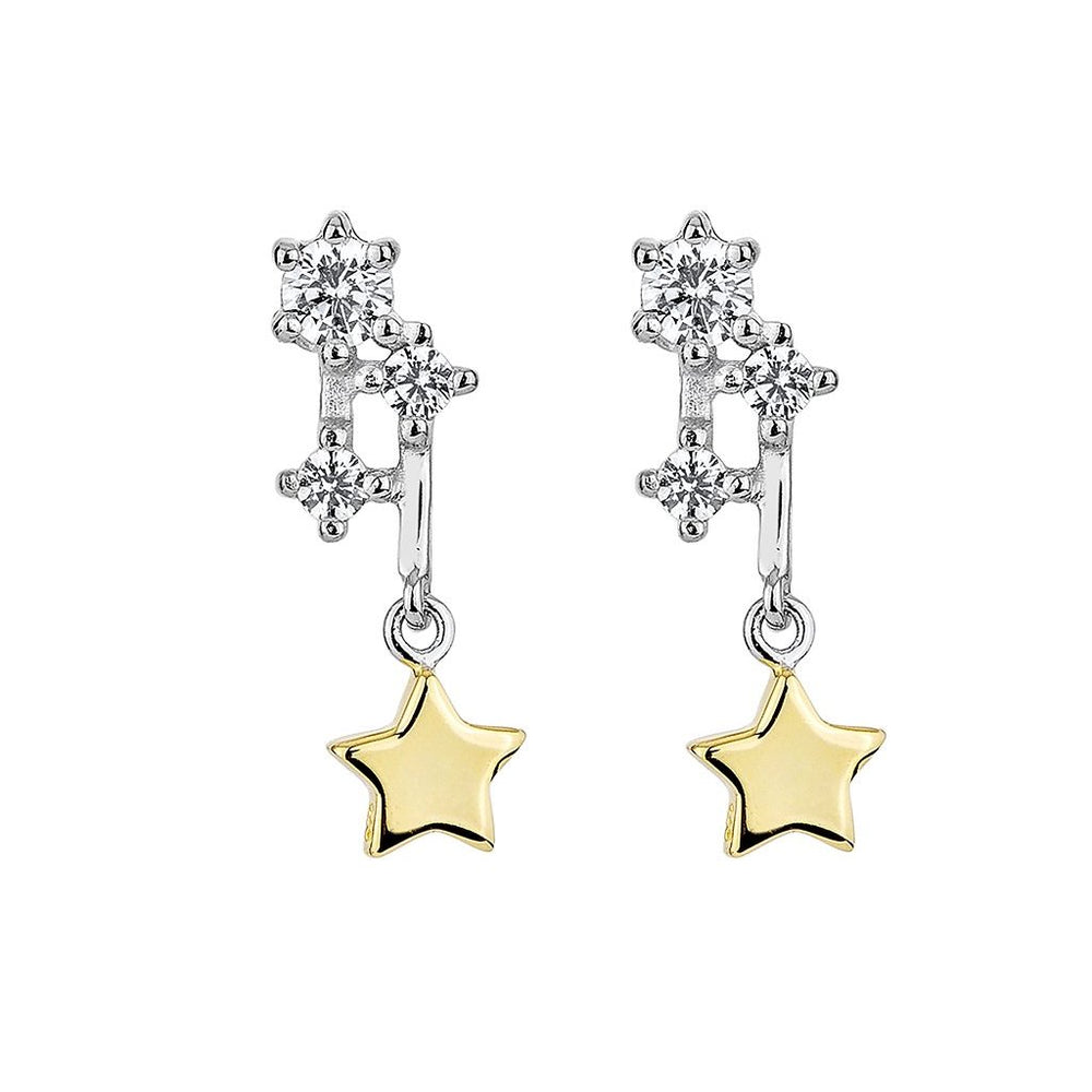 Load image into Gallery viewer, Sparkling Comet Earrings (TT)