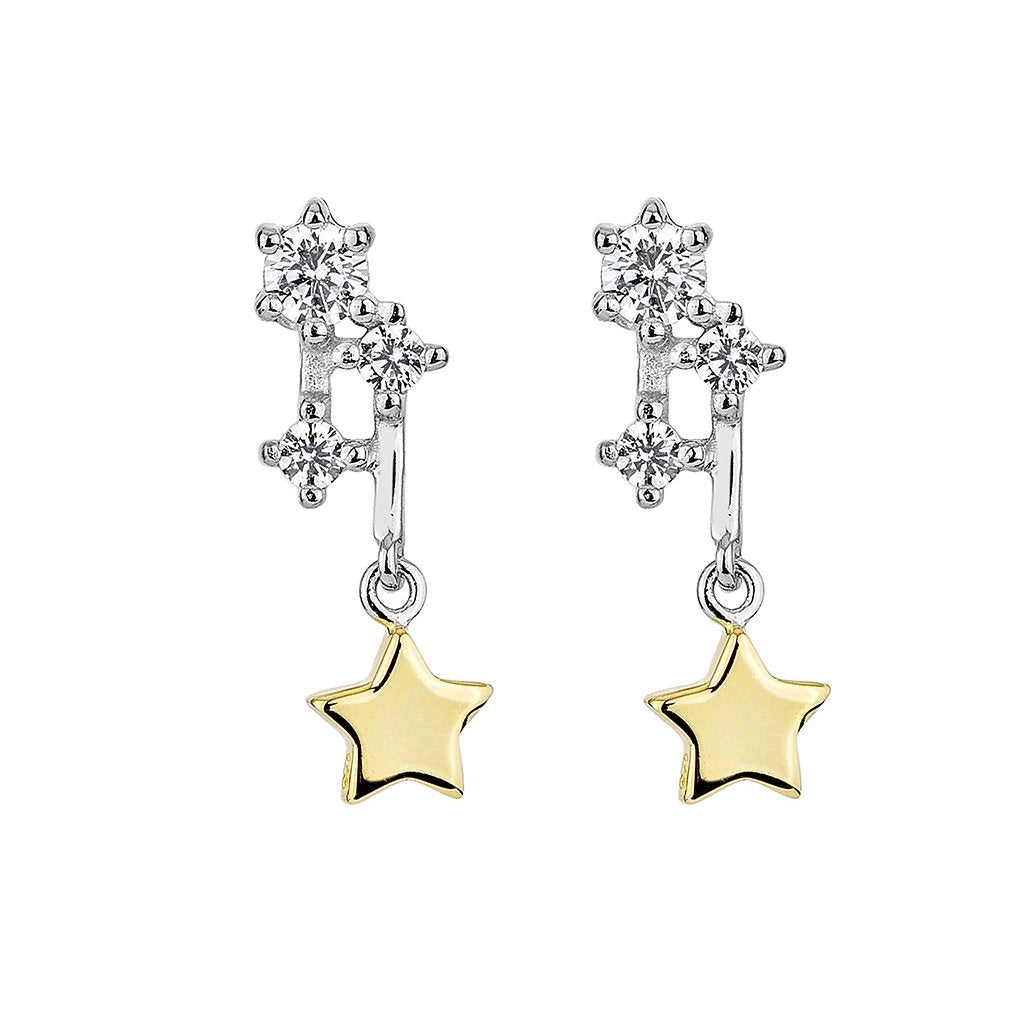 Sparkling Comet Earrings (TT)