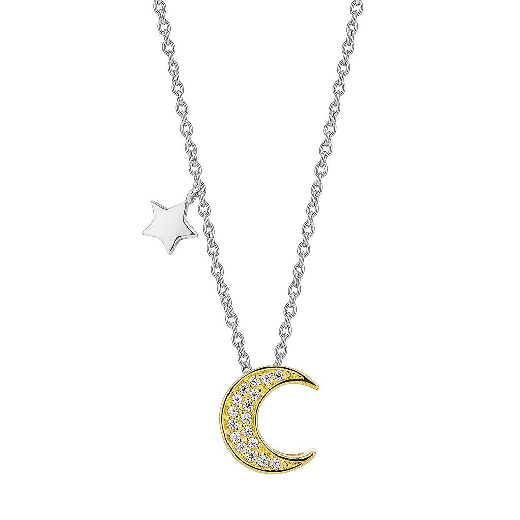Golden Lunar Necklace (G)