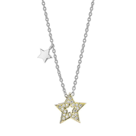 Twinkle Little Star Necklace (G)