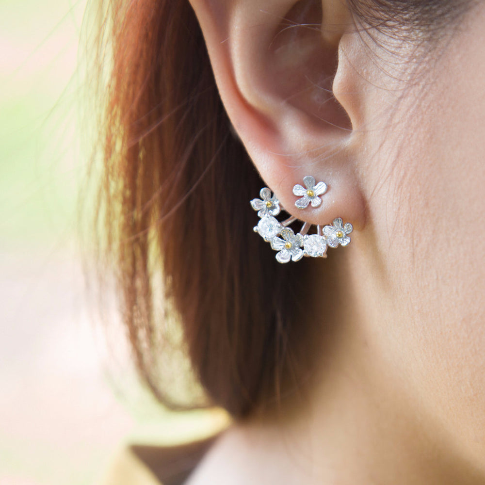 Bloom in Summer Drop Earrings