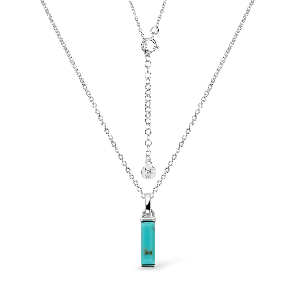 Load image into Gallery viewer, Turquoise Canvas Necklace