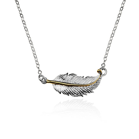 Angel Trace Necklace (TwoTone) #S - 82