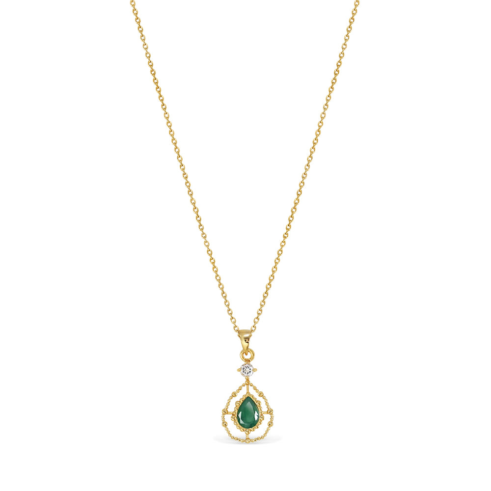 Emerald Eyes Necklace