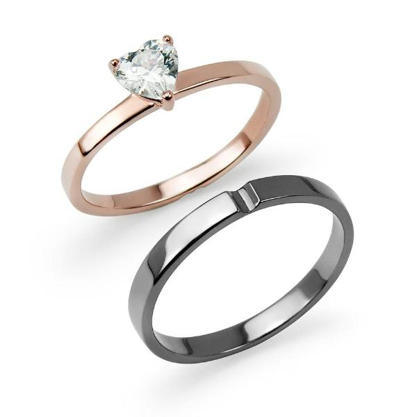 Promotion | Mini Heart Couple Ring