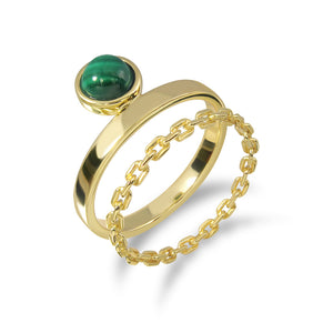 Evergreen Stacking Ring (G)