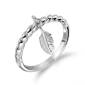 Free Like Feather Stackable Ring