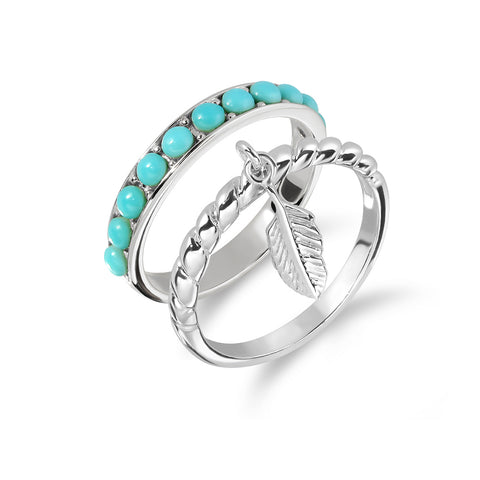 Fly Free in Blue Day Ring