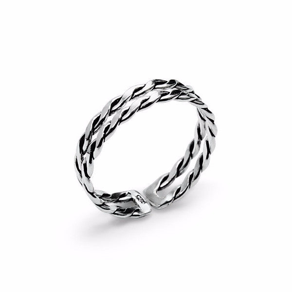 Double Twist Ring (60)