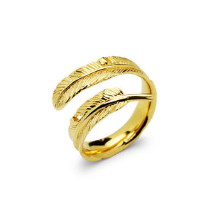 Load image into Gallery viewer, Little Angel Trace Ring - Golden (95)