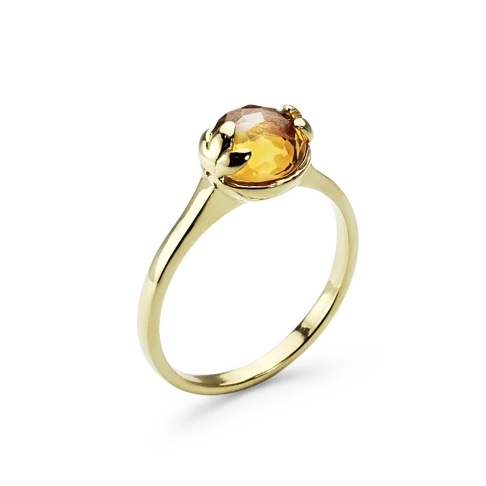 Monday | Lucky Me Citrine Ring
