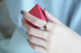 Saturday | Lucky Me Red Garnet Ring