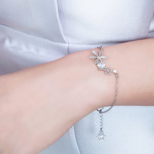 Blossom of Snow Bracelet