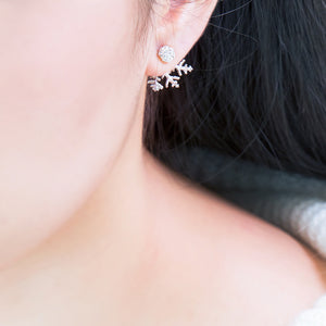 A Part of Snow Earrings