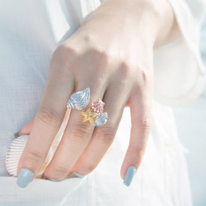 Oceans Whisper Cocktail Ring