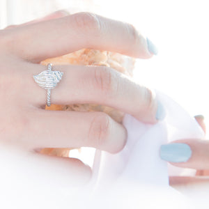 Oceans Whisper Stack Ring