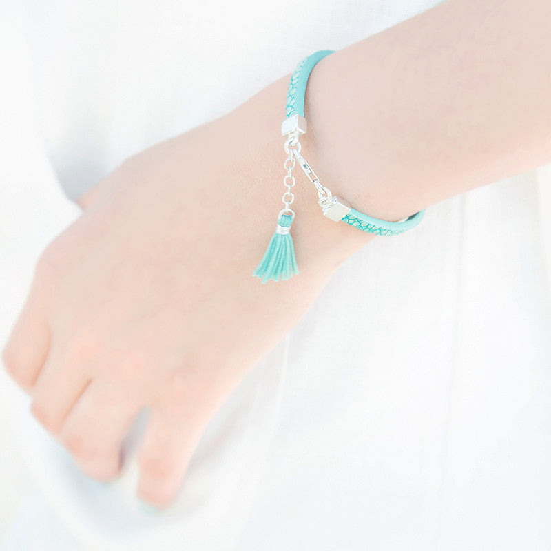 Sea Calls Leather Bracelets