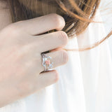 Anchor Rose Ring