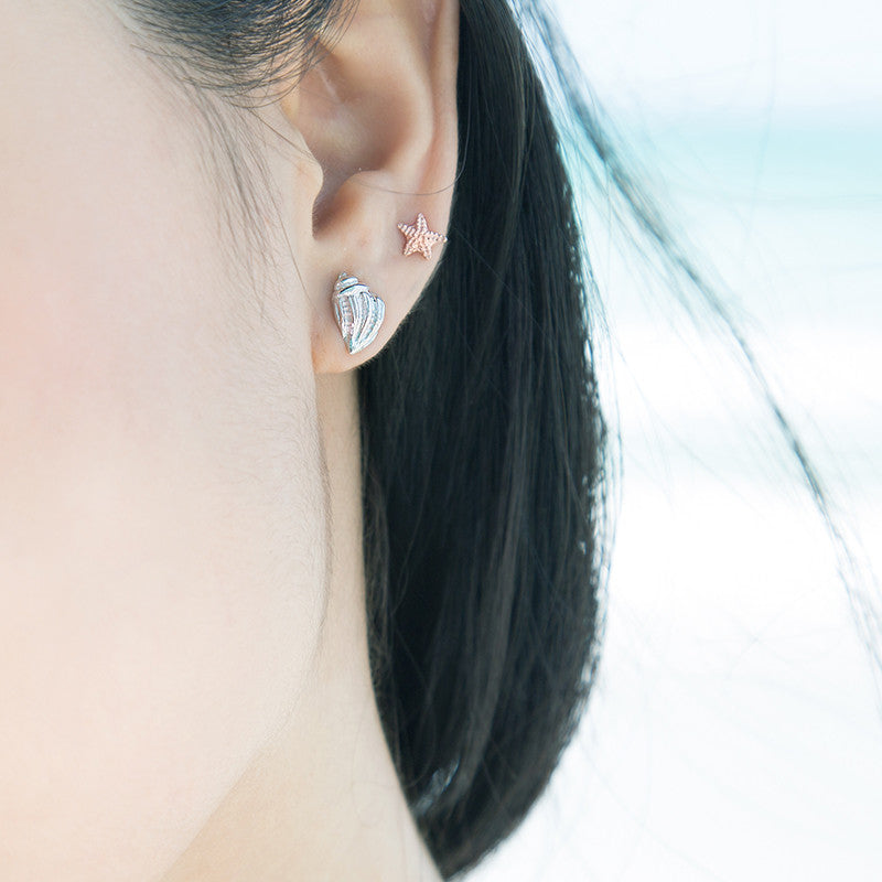 Oceans Whisper Earrings #S