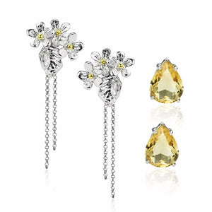 Load image into Gallery viewer, Bloom in Summer Earrings (3 styles)