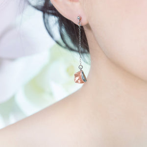 Falling Rose Earrings #S