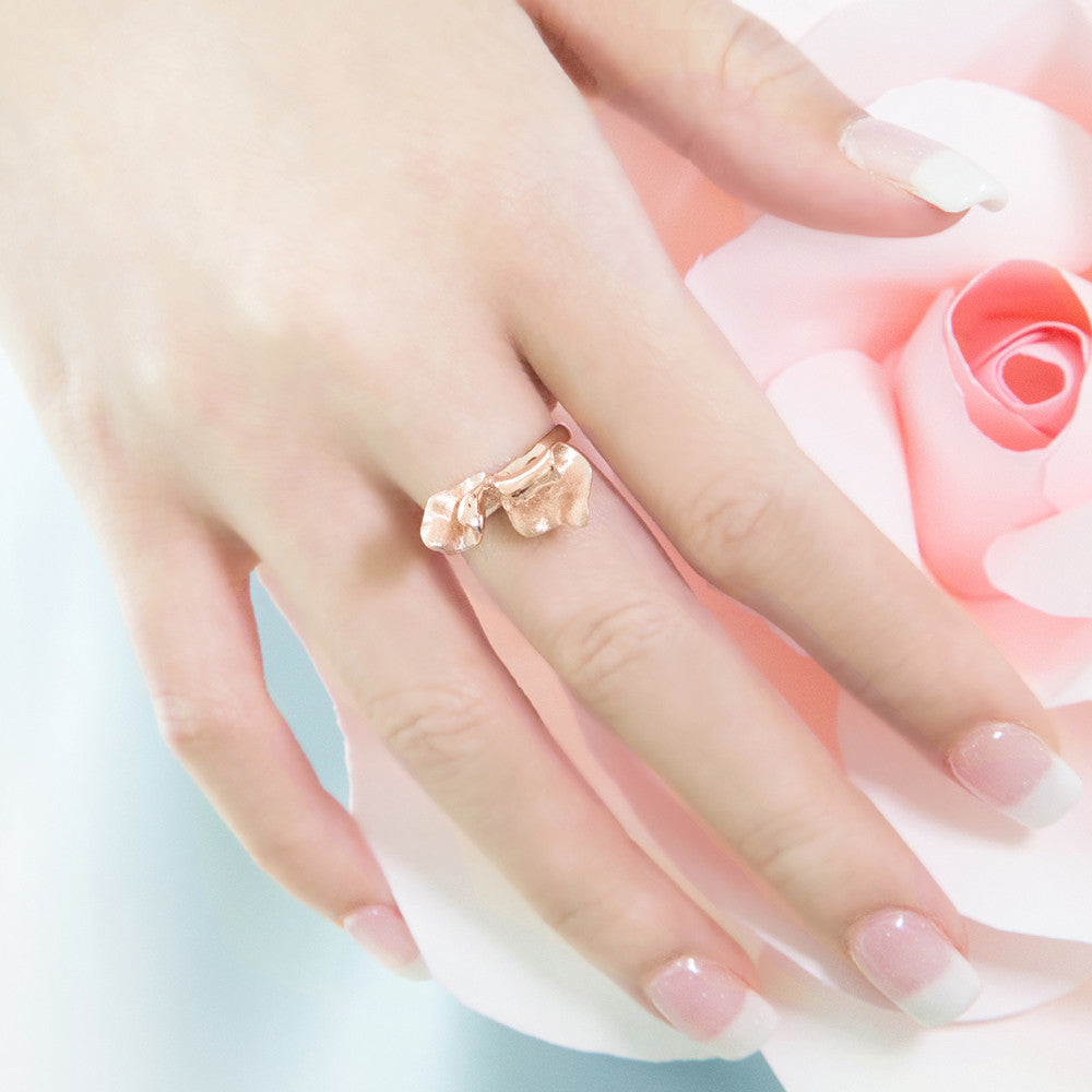 Petals of Rose Ring (Rose Gold)
