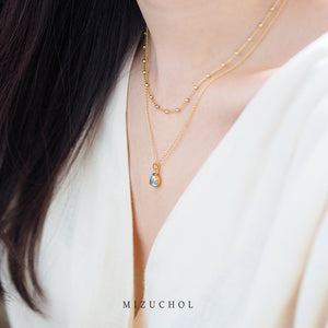 Lucky Me Double Layer Necklace - G (Wed)