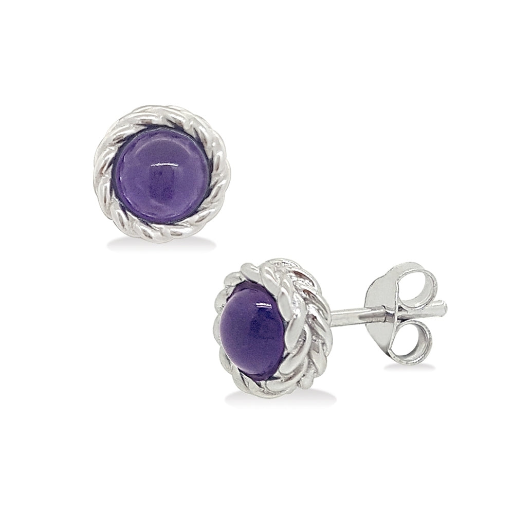 Bubbly Dream Earrings - w/ purple Amethyst