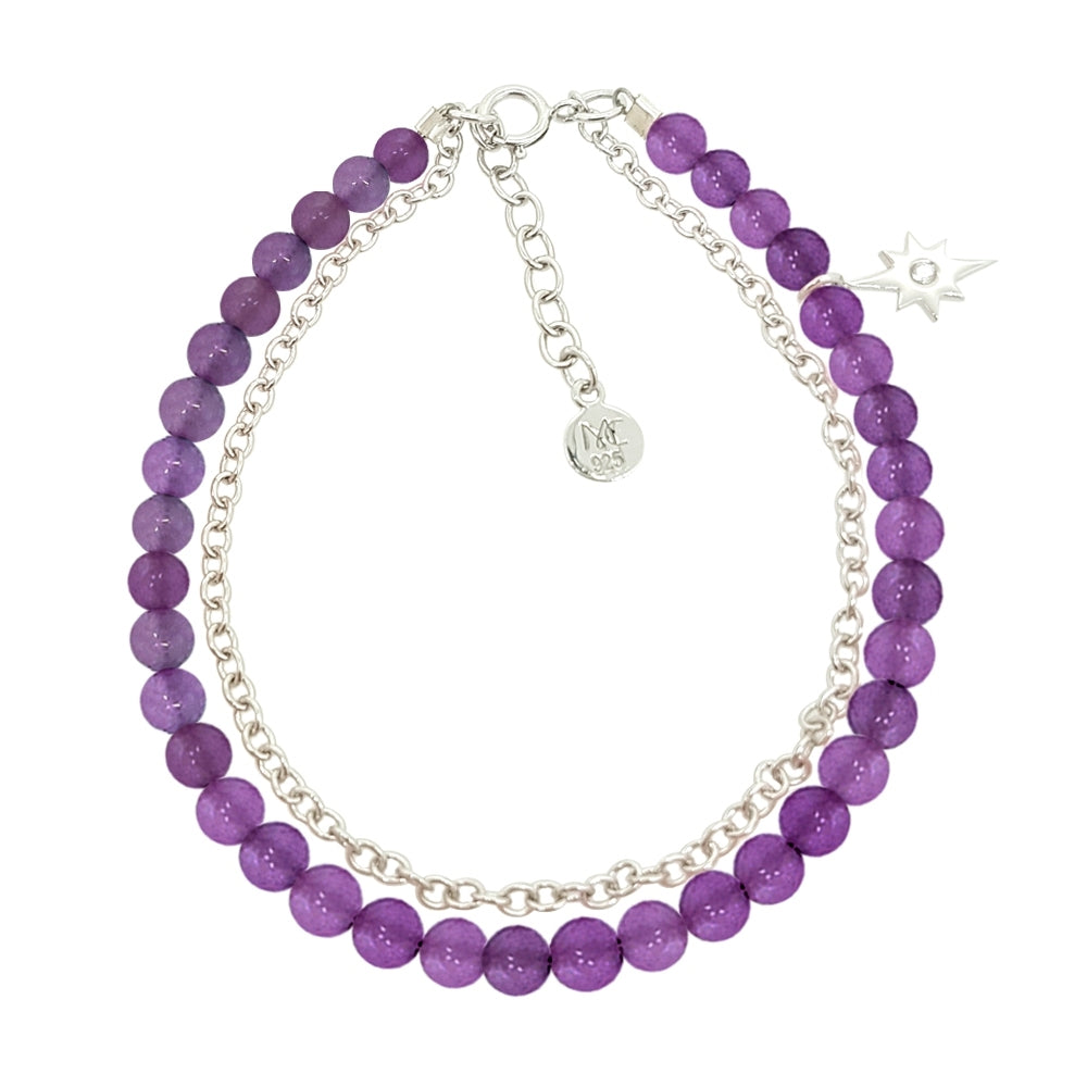 Bubbly Dream Bracelet - Amethyst