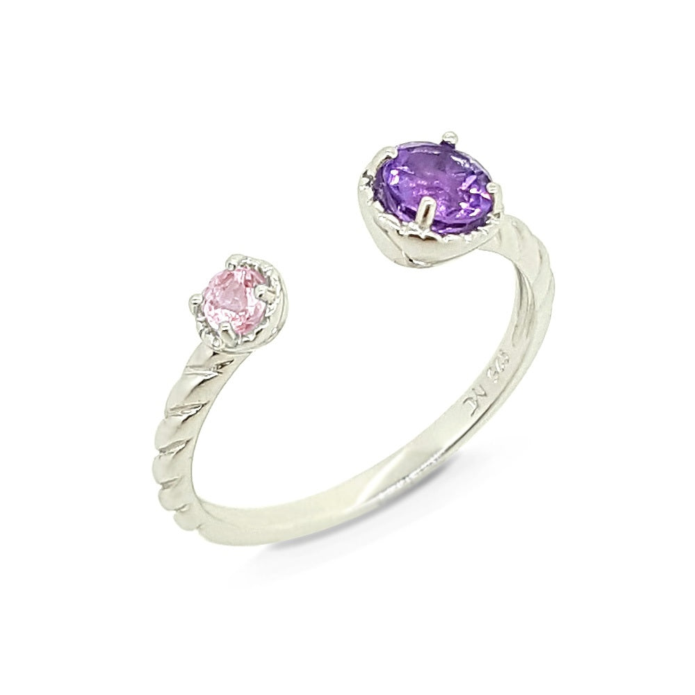 Colors Of The Unicorn Ring - Purple & Pink