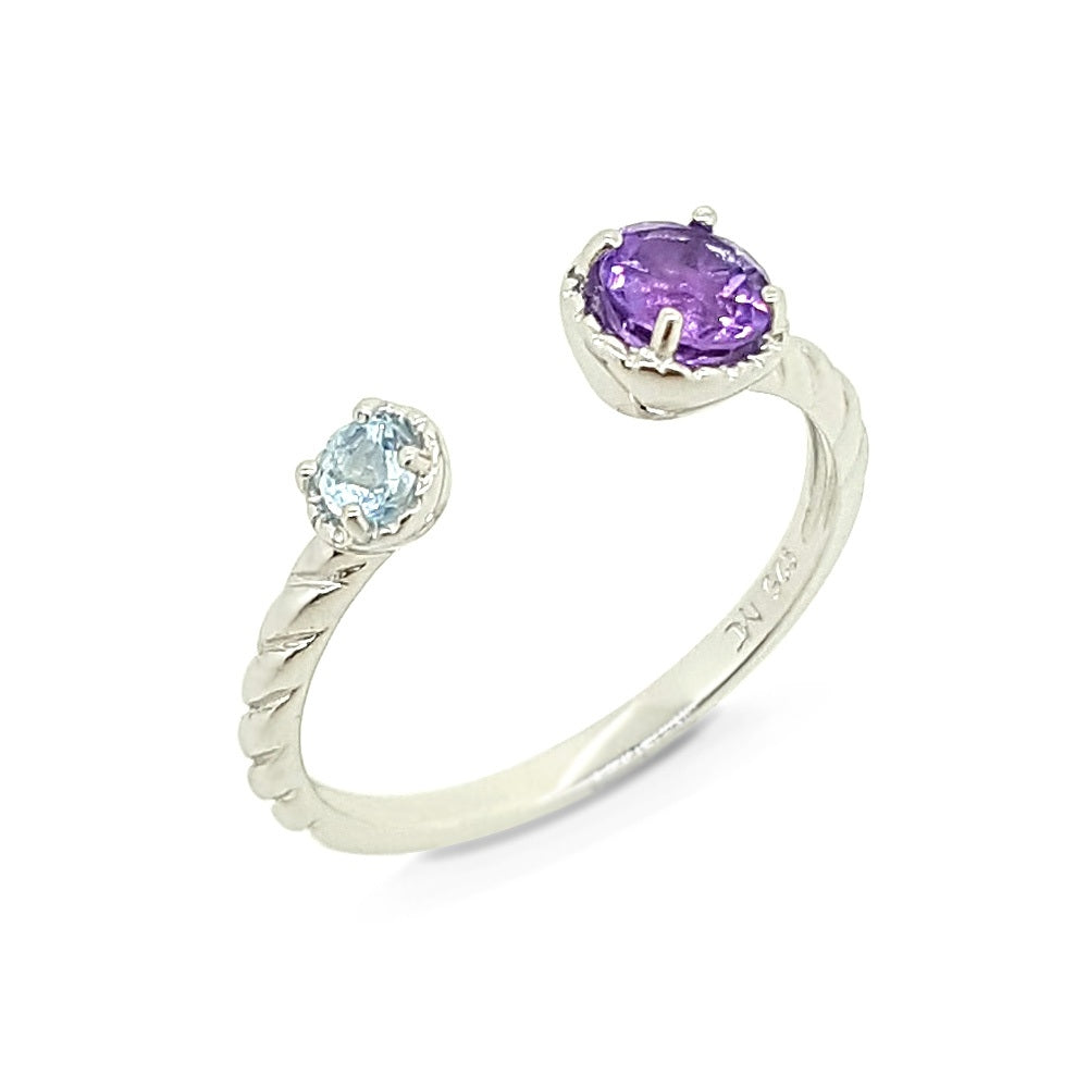 Colors Of The Unicorn Ring - Purple & Blue