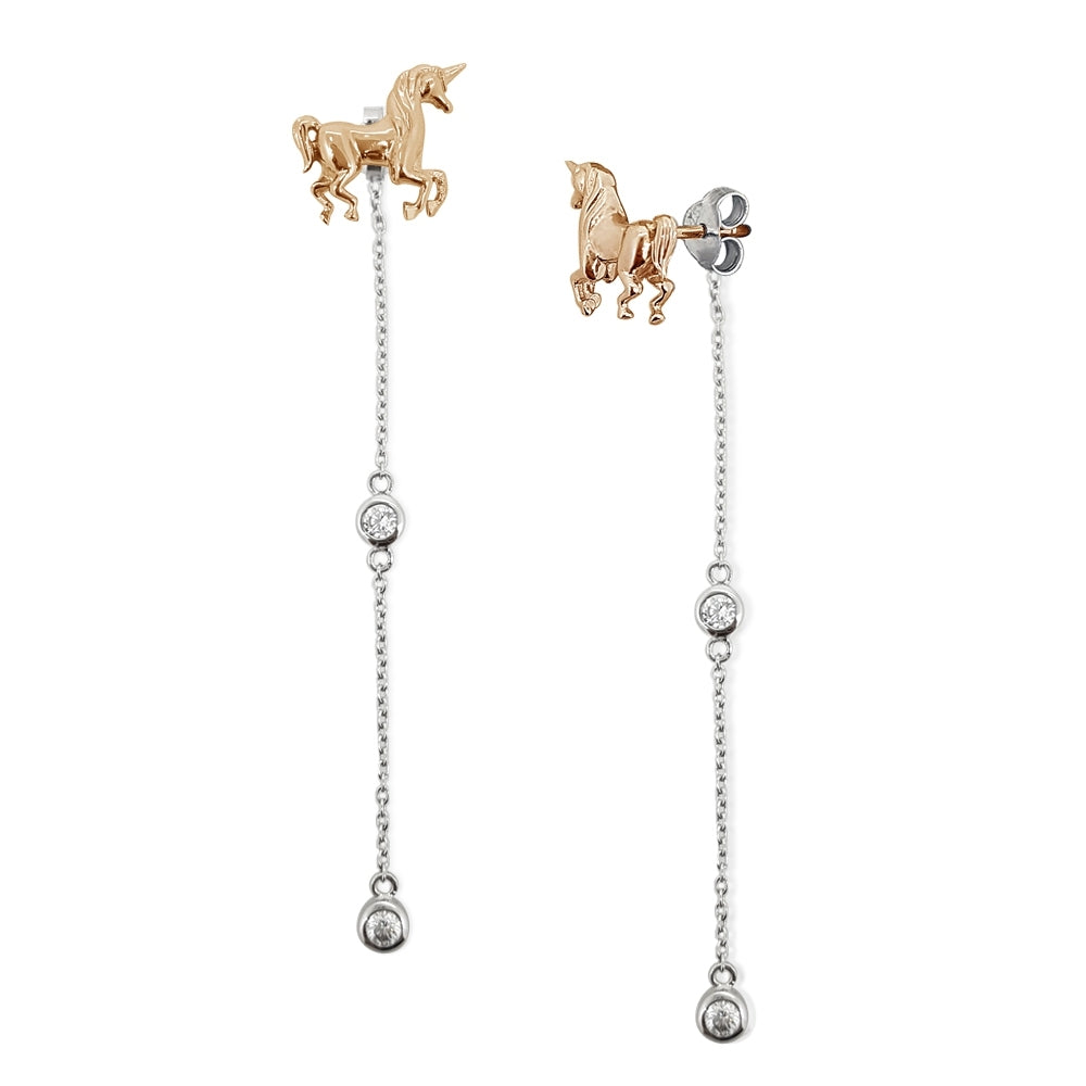 Dreamful Unicorn Earrings (PK) - 2 styles