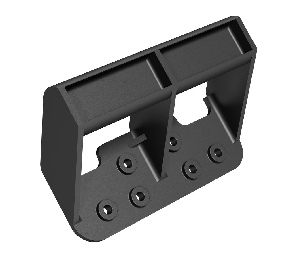 Standard Lift Handle, Front View, Black Plastic, Door Protector, Shipping Protector, Door Shipping, Strong Hold, Pull Handle