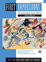 Dietzer, M'Lou - First Impressions: Music & Study Guides, Volume 4 - Late Intermediate - Piano Method Series (POP)*