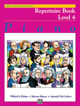 Alfred's Basic Piano Course: Repertoire Book 4