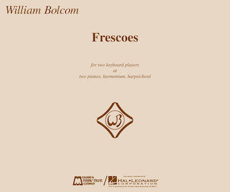 Bolcom, William - Frescoes - Piano Ensemble (2 Pianos 4 Hands)