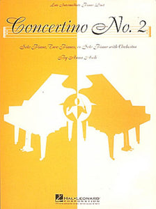 Asch, Anna - Concertino No. 2 - Late Intermediate - Piano Ensemble (2 Pianos 4 Hands) or Piano Solo