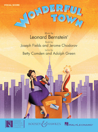 Bernstein, Leonard - Wonderful Town - Broadway Vocal Score (English)