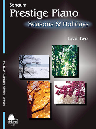 Seasons & Holidays, Level 2 arr. Wesley & Jeff Schaum - Late Elementary - Piano Solo Collection*