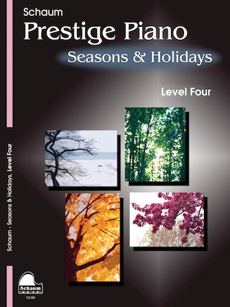 Seasons & Holidays, Level 4 arr. John Revezoulis ed. Jeff Schaum - Early Intermediate - Piano Solo Collection*