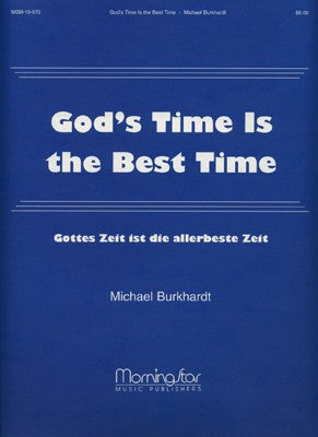 Bach - God's Time Is The Best Time arr. Michael Burkhardt (Gottes Zeit ist die allerbeste Zeit) - Organ Solo