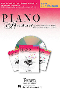 Level 1 - Lesson Book CD - 2nd Edition Piano Adventures Faber Piano Adventures Lesson Book CD
