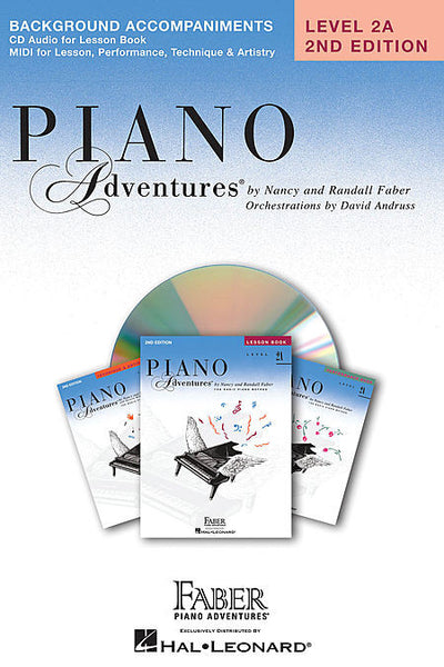 Level 2A - Lesson Book CD Piano Adventures Faber Piano Adventures Lesson Book CD