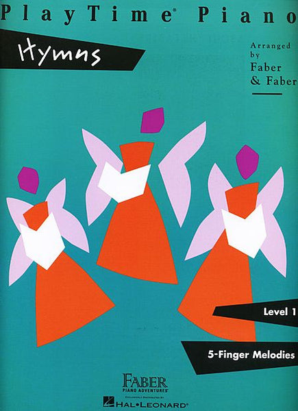 PlayTime Hymns Level 1 Faber Piano Adventures Book