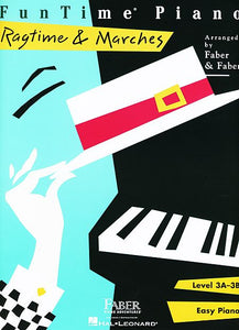 FunTime Ragtime & Marches Level 3A-3B Faber Piano Adventures Book