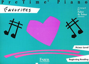 PreTime Favorites Primer Level Faber Piano Adventures Primer Level