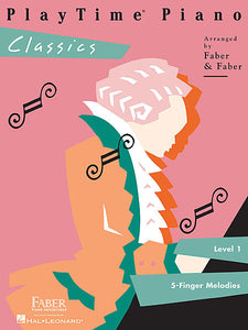 PlayTime Classics Level 1 Faber Piano Adventures Book