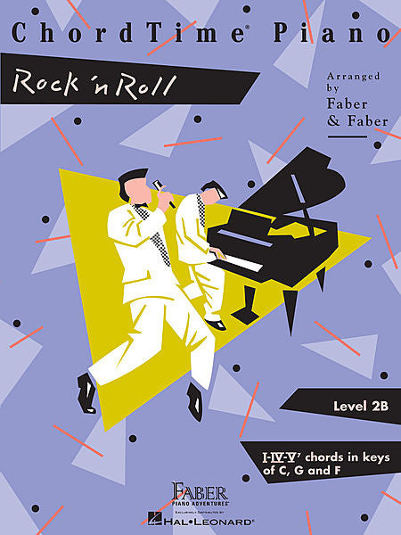 ChordTime Rock 'n' Roll Level 2B Faber Piano Adventures Book
